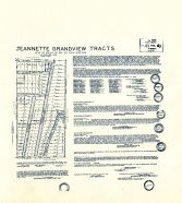 Jeannette Grandview Tracts, King County 1945 Vols 1 and 2